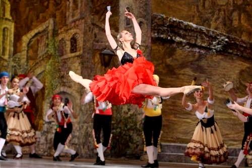 """Ukrainian ballet """"Lileya"""" by Konstantyn Dan'kevych"""